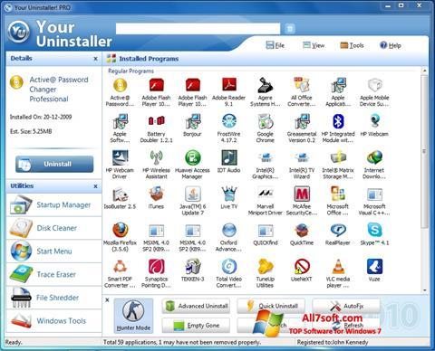 Screenshot Your Uninstaller Windows 7