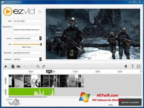 Screenshot Ezvid Windows 7