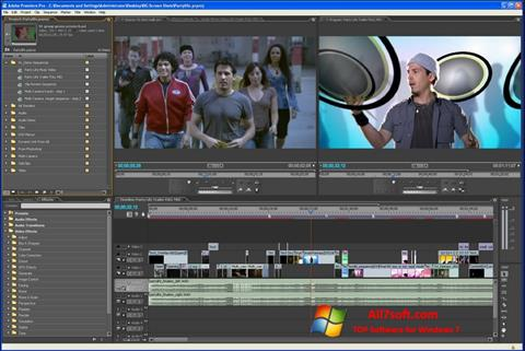 Screenshot Adobe Premiere Pro Windows 7