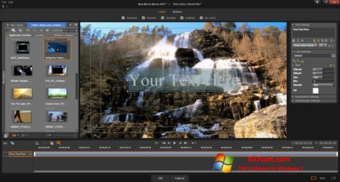 Screenshot Pinnacle Studio Windows 7