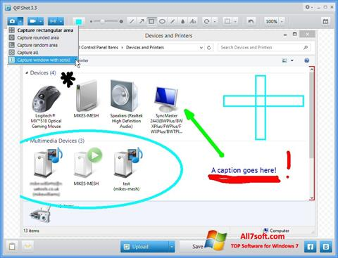 Screenshot QIP Windows 7