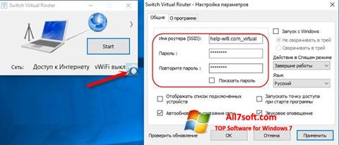 Screenshot Switch Virtual Router Windows 7